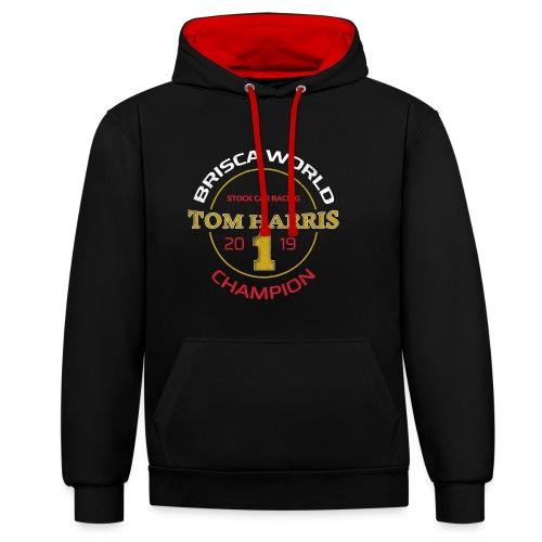 Tom Harris Brisca World Champion 2019 - Contrast Colour Hoodie