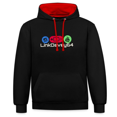 LinkDavey64 - Contrast hoodie