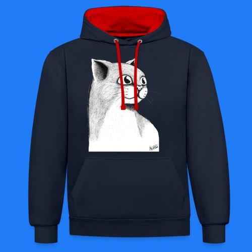 CAT HEAD by AGILL - Sweat-shirt contraste