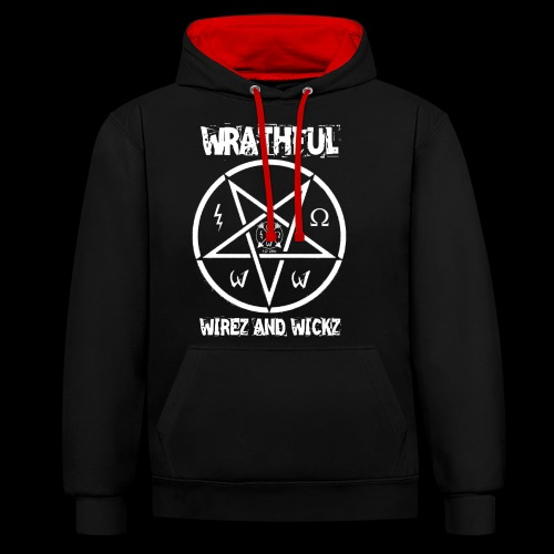 Wrathful Wirez PentaWrath - Contrast Colour Hoodie