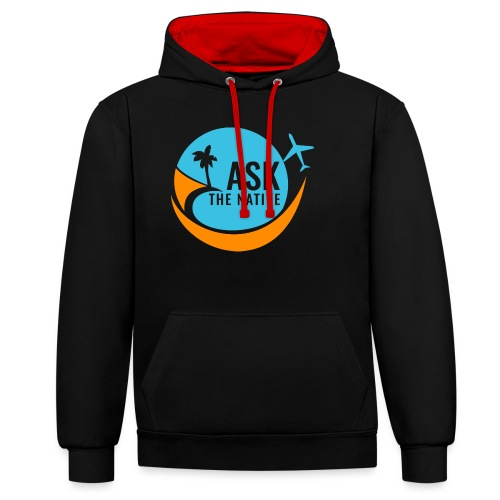 Ask the Native Original Logo - Contrast hoodie