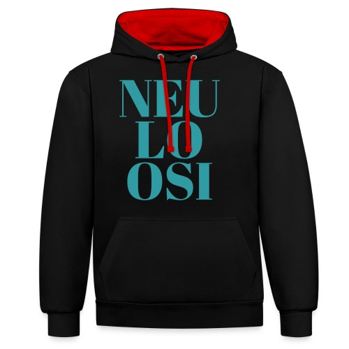 Neuloosi - Contrast Colour Hoodie