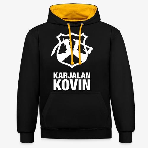 Karjalan Kovin Iso logo - Kontrastihuppari