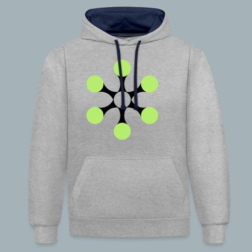 Star Bio T-shirt - Contrast hoodie