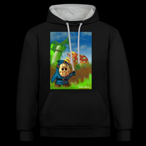 SuperMario: Not so shy guy - Contrast hoodie