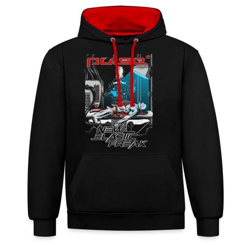 Pulse - New Elastic Freak - Shirt - Kontrast-Hoodie