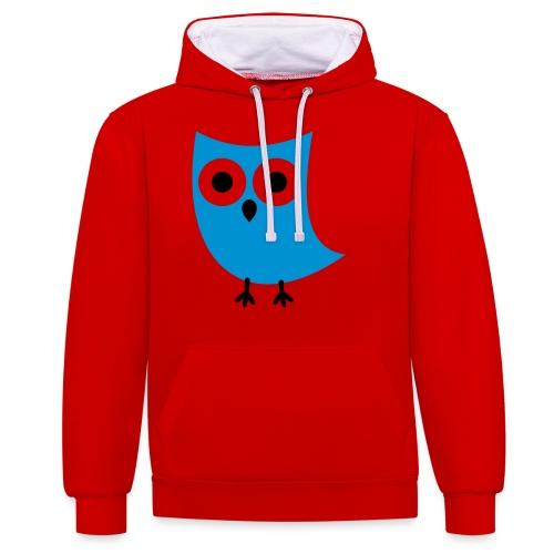 Uiltje - Contrast hoodie