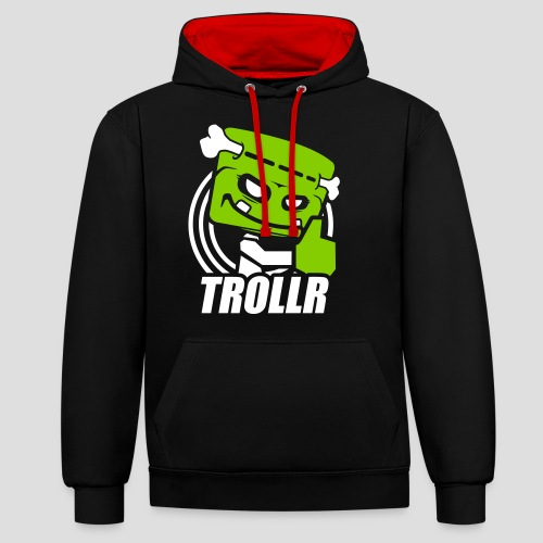 TROLLR Like - Sweat-shirt contraste