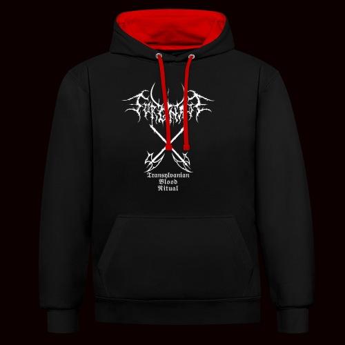 Sorgnatt - Transylvanian Blood Ritual - Contrast Colour Hoodie