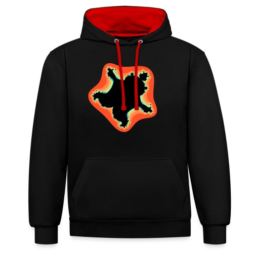 Burn Burn Quintic - Contrast Colour Hoodie