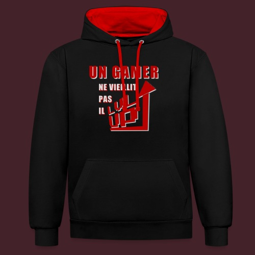 Jeune Gamer - Sweat-shirt contraste