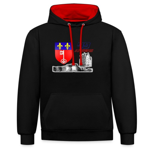 49 Angers - Sweat-shirt contraste