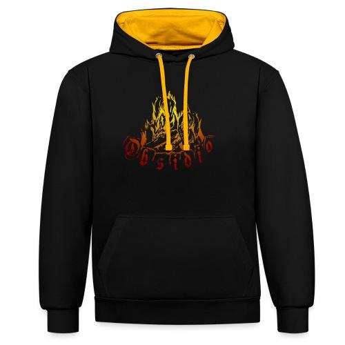 Obsidio Feuer - Kontrast-Hoodie