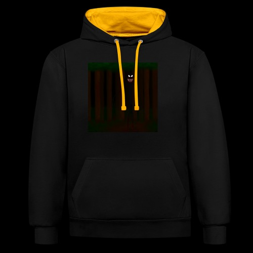 Forest Beast - Contrast Colour Hoodie