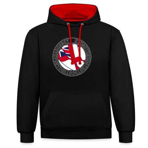 Hands to Harbour Stations (DC) - Contrast Colour Hoodie