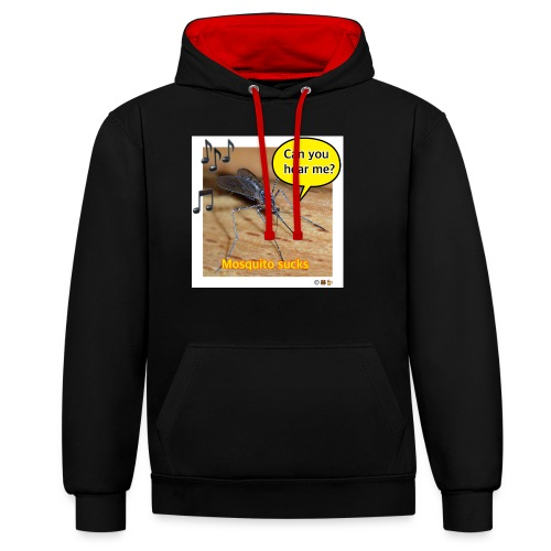 Mosquito.eth, can you hear me? - Kontrast-Hoodie
