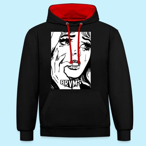 BRVMS / BLOOD BOUND / - Sweat-shirt contraste