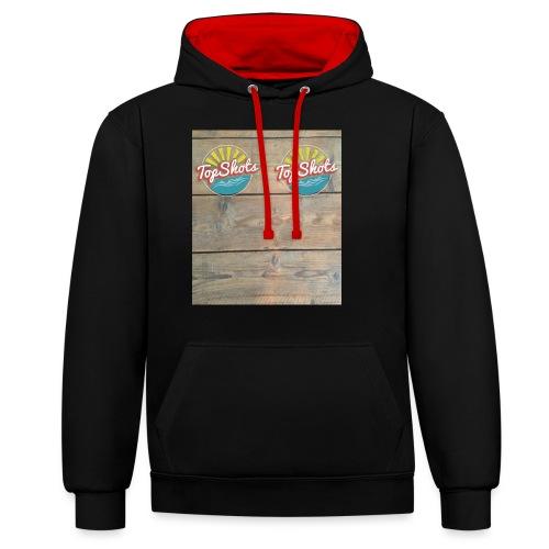 TenSlippers - Contrast hoodie
