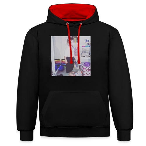 IMG 0943 - Contrast Colour Hoodie