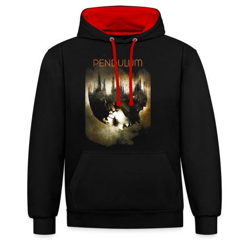 Pendulum Cover - Contrast Colour Hoodie