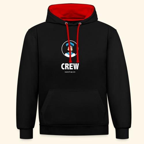 SeaProof Crew - Kontrast-Hoodie