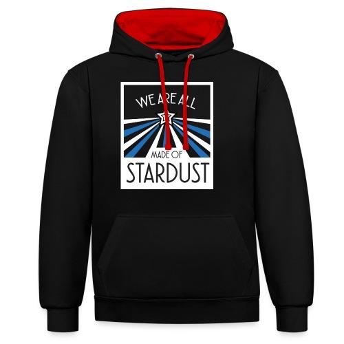 Star Dust - Sweat-shirt contraste