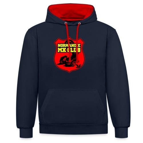 Casquette Normandie MX Club - Sweat-shirt contraste