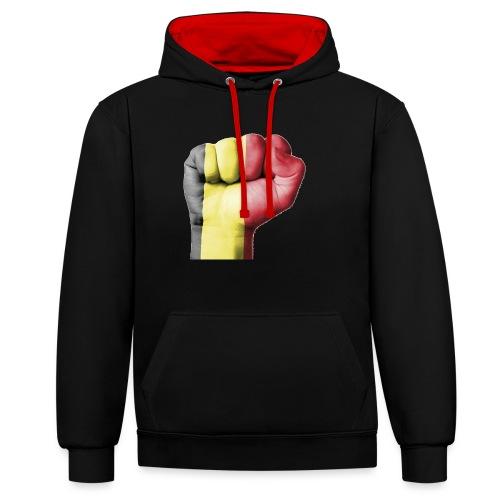La résistance Belge - Sweat-shirt contraste