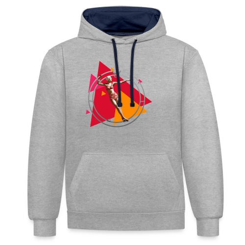 What comes around - Contrast Colour Hoodie