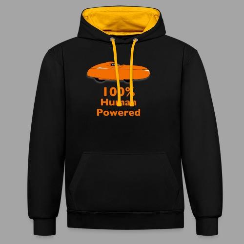 100% human powered - Kontrastihuppari