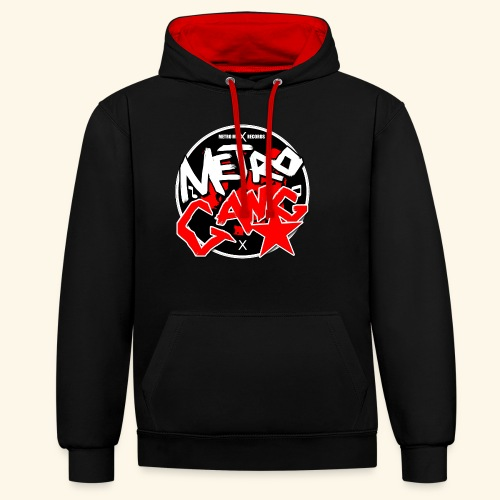 METRO GANG LIFESTYLE - Contrast Colour Hoodie