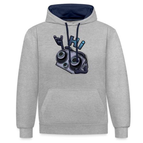 The DTS51 emote1 - Contrast hoodie