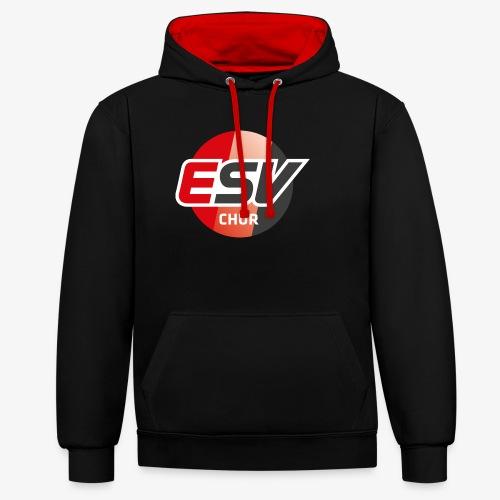 ESV Chur - Kontrast-Hoodie