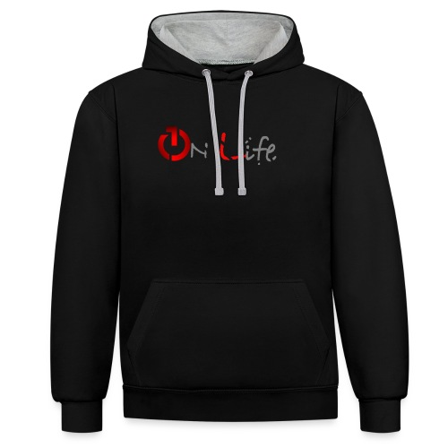 OnLife Logo - Sweat-shirt contraste