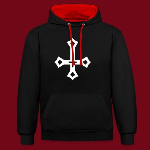 Antichrist - Kontrast-Hoodie