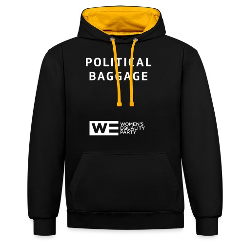 Political Baggage - Contrast Colour Hoodie