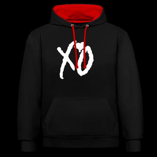 XO - Contrast hoodie