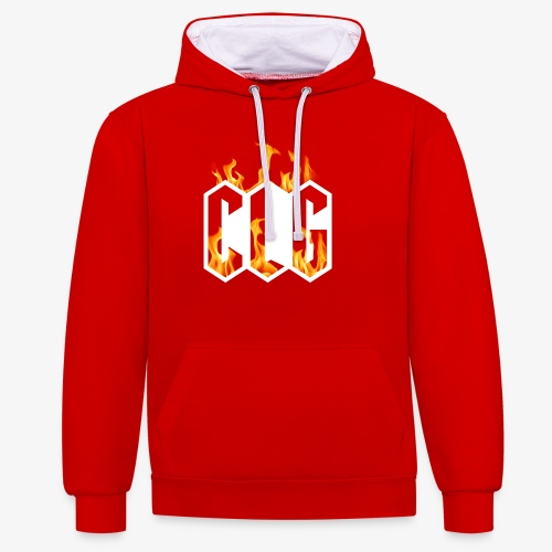 CLG DESIGN - Sweat-shirt contraste