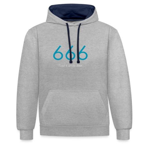 666 and 999 - Kontrastluvtröja