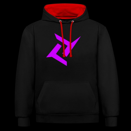 New logo png - Contrast hoodie