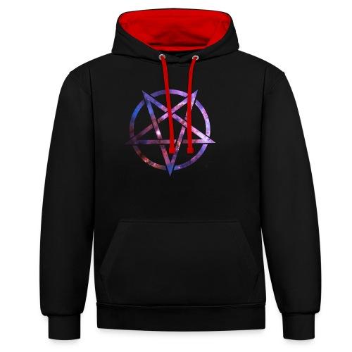 Cosmic Pentagramm - Contrast Colour Hoodie