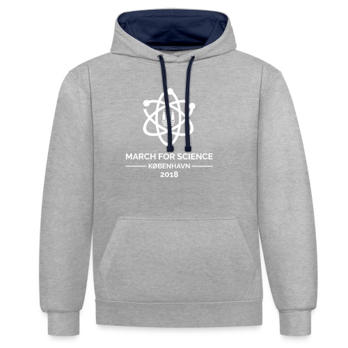 March for Science København 2018 - Contrast Colour Hoodie