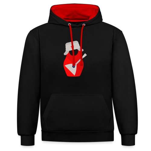 Matryoshka-Edition - Contrast Colour Hoodie