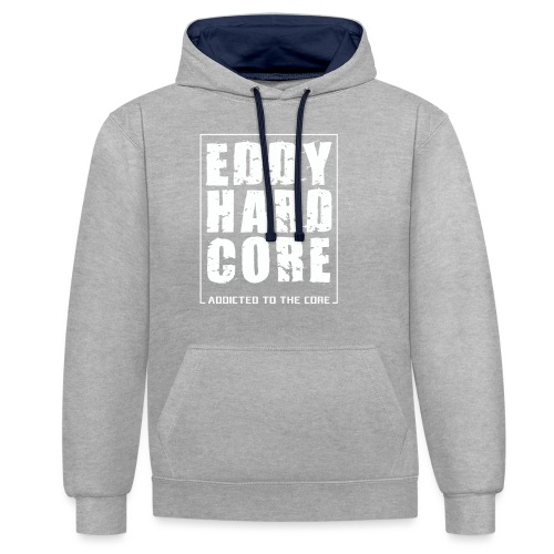 EddyHardcore ATTC square - Contrast hoodie