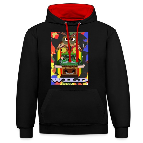 Totem Animal - Sweat-shirt contraste