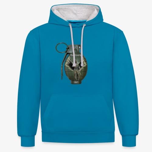 grenadearma3 png - Contrast Colour Hoodie