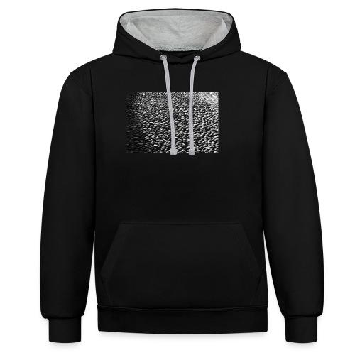 cobblestone shirt - Contrast hoodie