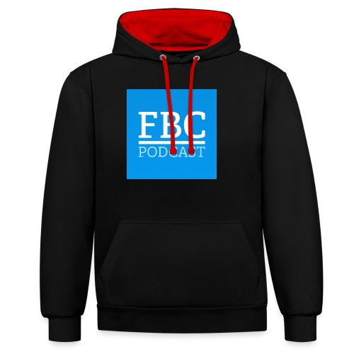 fbc-podcast merchandise - Kontrast-Hoodie