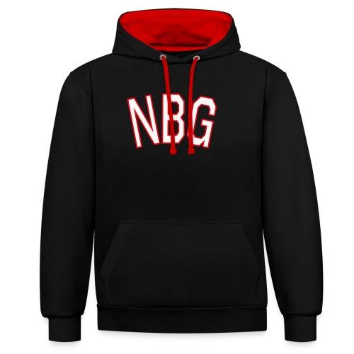 NBG College - Kontrast-Hoodie
