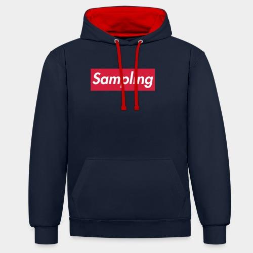 Sampling - Kontrast-Hoodie